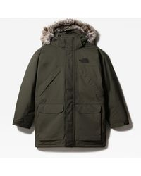 The North Face New Peak-donsparka - Groen