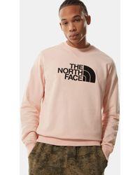The North Face Drew Peak Light Maglione - Rosa