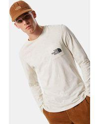 The North Face Tissaack T-shirt Met Lange Mouwen - Wit