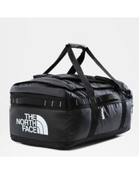The North Face Base Camp Voyager Duffel 62l Tnf /tnf White One - Black