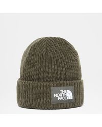 The North Face Salty Dog Beanie New Taupe One - Green