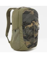The North Face - Jester Rucksack Burnt Olive Woods Camo Print - Lyst