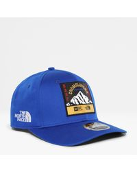 The North Face Official New Era X 9fifty Stretch Snap Cap Tnf - Blue