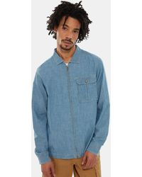 The North Face Men's Berkeley Chambray Long-sleeve Shirt Medium Chambray - Blue