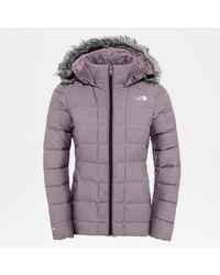 The North Face Women's Gotham Jacket Ashen - Purple