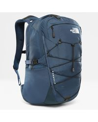 The North Face Borealis-rugzak Blue Wing Teal/tnf - Zwart