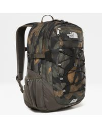 The North Face Borealis Classic Rucksack Burnt Olive Woods Camo Print - Grün