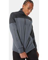 The North Face New Sweater Met 1/4-rits - Meerkleurig