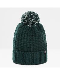 The North Face Cosy Chunky Beanie Ponderosa One - Green