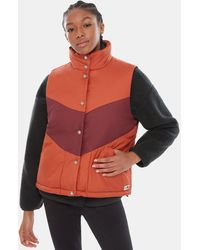 The North Face Women's Sylvester Gilet Picante - Red