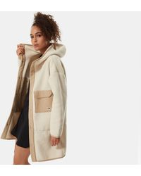 The North Face Women's Cragmont Fleece Coat Bleached Sand/hawthorne Khaki - Natural