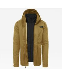 The North Face Modis Triclimate Jacke British Khaki - Schwarz