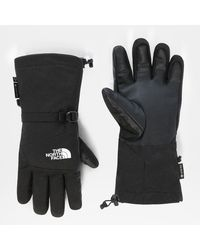 The North Face Montana Gore-tex® EtipTM Ski-handschuhe Tnf Heather - Schwarz