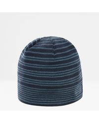 The North Face Bonnet Bones Recycled Urban Navy/shady - Bleu