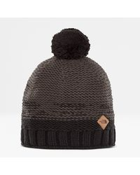 The North Face Antlers Beanie Tnf One - Black
