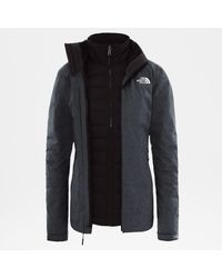 The North Face Mountain Zip-in Triclimate®-donsjas - Grijs