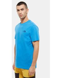 The North Face Simple Dome T-shirt - Blauw