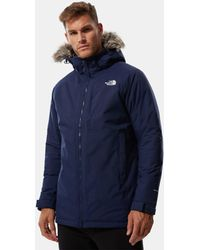The North Face Aral Ii-parka - Blauw