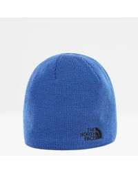 The North Face Gerecyclede Bones-beanie Tnf Blue\tnf - Zwart