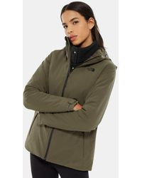The North Face Women's Apex Flex Gore-tex® Thermal Jacket New Taupe - Green