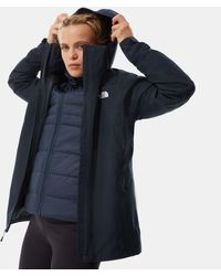 The North Face - Women's Inlux Triclimate Jacket Urban Light Heather/urban - Lyst