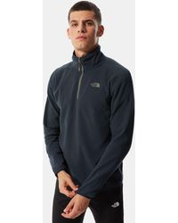 The North Face Pullover In Pile - Blu