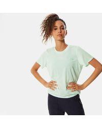 The North Face - Wander T-shirt Con Dettagli Intrecciati Sul Retro - Lyst