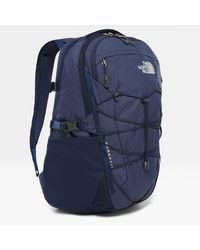 The North Face Borealis Backpack Montague Blue Light Heather - Grey
