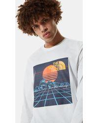 The North Face - T-shirt A Maniche Lunghe - Lyst