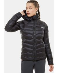 The North Face Women's Impendor Hooded Down Jacket Tnf /tnf White - Black