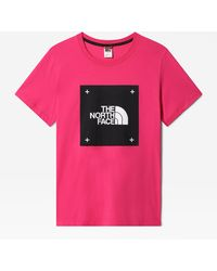 The North Face Bf Box T-shirt - Roze
