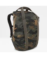 The North Face Sac À Dos Instigator 20 l Burnt Olive Woods Camo Print/new Taupe - Vert