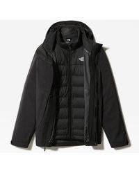 The North Face Veste En Duvet mountain Triclimate® Zip-in - Noir