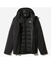 The North Face Mountain Zip-in Triclimate®-donsjas - Zwart