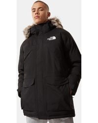 The North Face New Peak-donsparka - Zwart