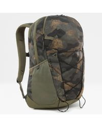 The North Face Sac À Dos Cryptic Burnt Olive Woods Camo Print\burnt Olive - Vert