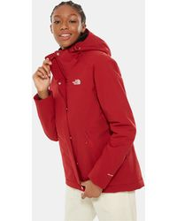 The North Face Women's Inlux Insulated Jacket Cardinal - Red