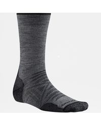 The North Face Smartwool Outdoor Light Crew Socks - Grey