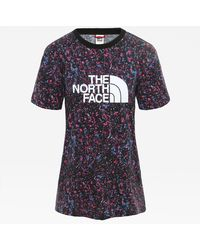 The North Face Boyfriend Easy T-shirt - Paars