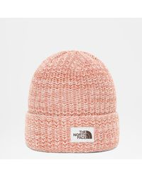 The North Face Women's Salty Bae Beanie Clay One - Pink