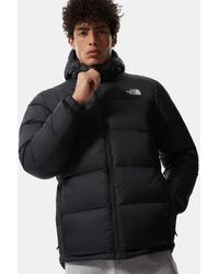 The North Face Diablo Daunenjacke Mit Kapuze Tnf /tnf - Schwarz