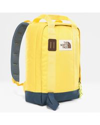 The North Face Tote Backpack Bamboo /blue Wing Teal One - Yellow