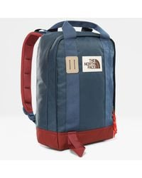 The North Face Tote Backpack Blue Wing Teal/barolo One - Red