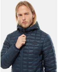 The North Face Thermoballtm Eco-jas Met Capuchon - Blauw