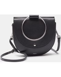 Theory - Whitney Bag In Nappa Leather - Lyst
