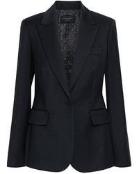 Equipment Burelle Wool-twill Blazer - Black