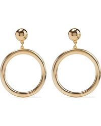 Ben-Amun 24-karat Gold-plated Earrings Gold - Metallic