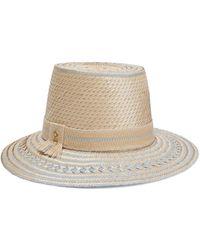 Yosuzi Nena Woven Straw Hat - Natural