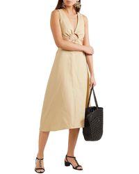 Tabitha Simmons Sheldon Embellished Leather Sandals - Black