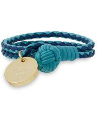 Zimmermann Leather Bracelet - Blue